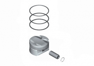 Piston complet STD motor 1,6 Mini Cooper