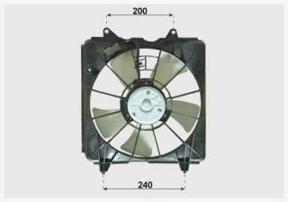 Ventilator radiator Civic