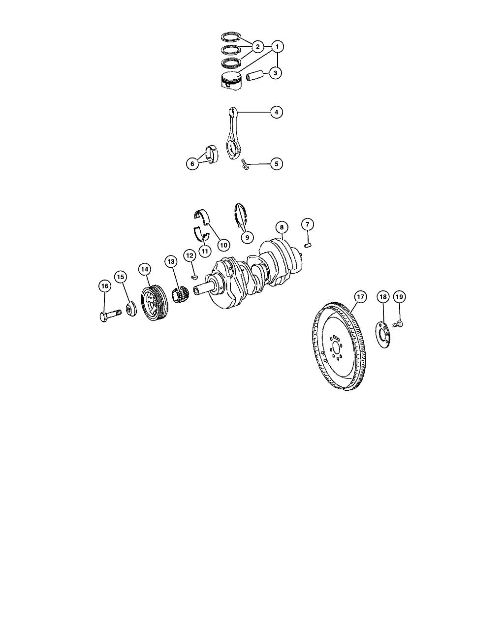 biela piston motor 3 0 crd  poz 4
